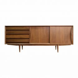 Cambio teak sideboard large vintage danish style with oil finished made for katamama hotel Bali