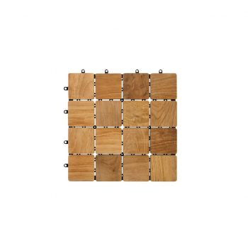 Teak A Grade Garden Tile Indonesia with stainless steel screws and plastic base ready stock factory prices