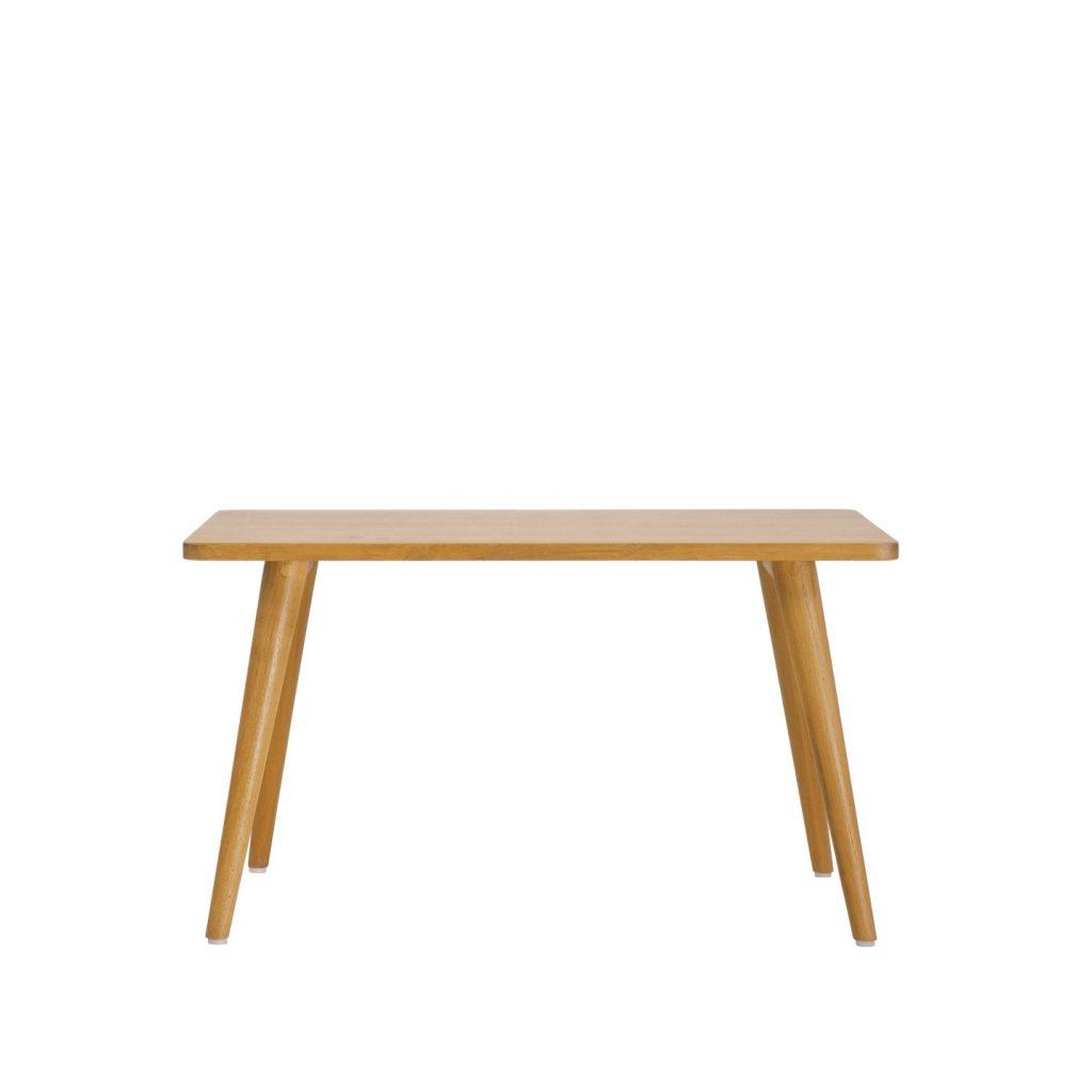 Danish vintage retro teak side table rectangular made from teak with oil finishing grade A