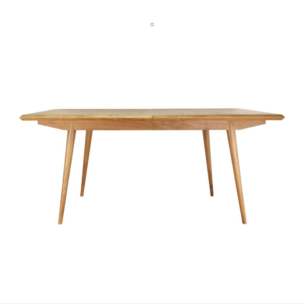 Grade A teak vintage retro ext table dimension width 100 cm length 180 cm extend to 240 cm with oil finished