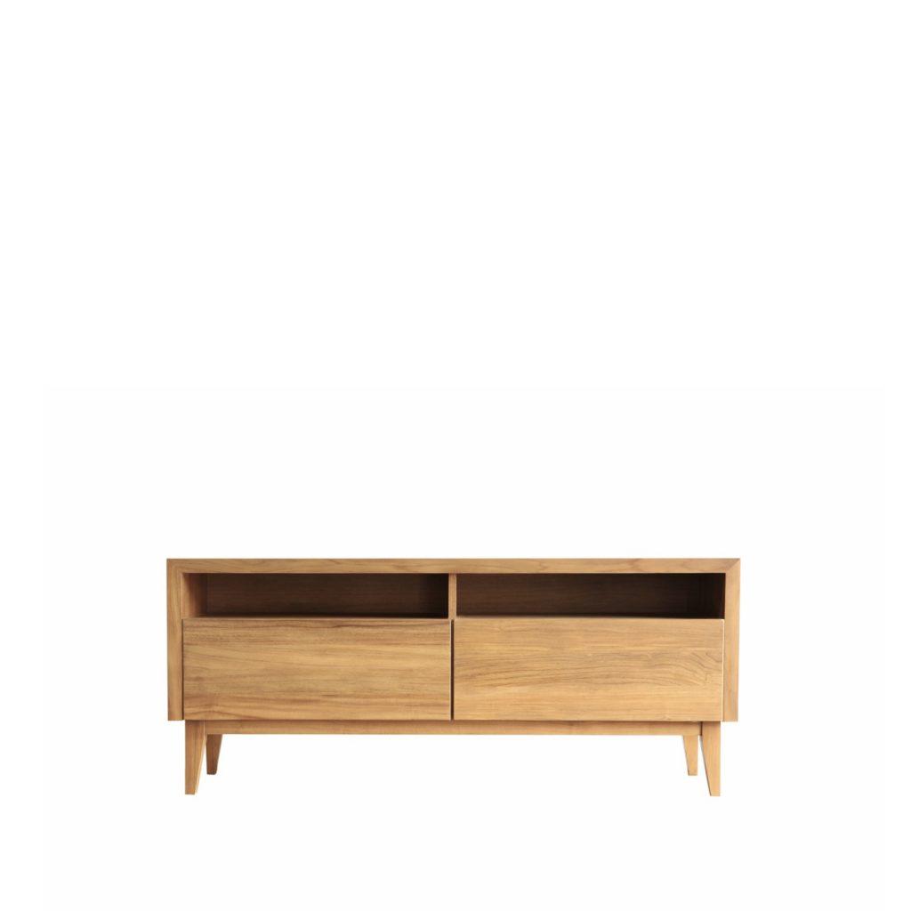 Cupboard untuk TV dari jati cocok untuk apartment atau ruangsn kecil
