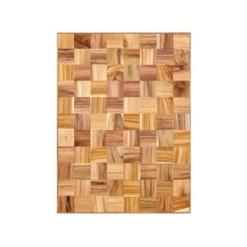 Fishbone teak top table for restaurants or hotel for ethnic accent interior